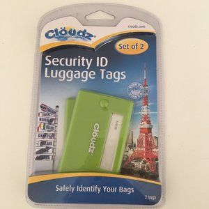 ‼️SOLD‼️ Cloudz Security ID Luggage Tags